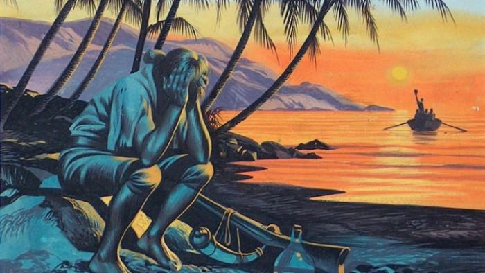 Как людям удавалось выживать на необитаемых островах. | Фото: crazy.casa.