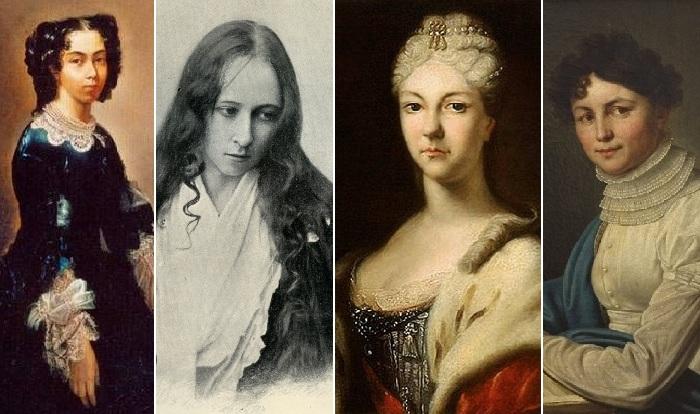 Старые русские девы, посвятившие себя искусству и культуре.